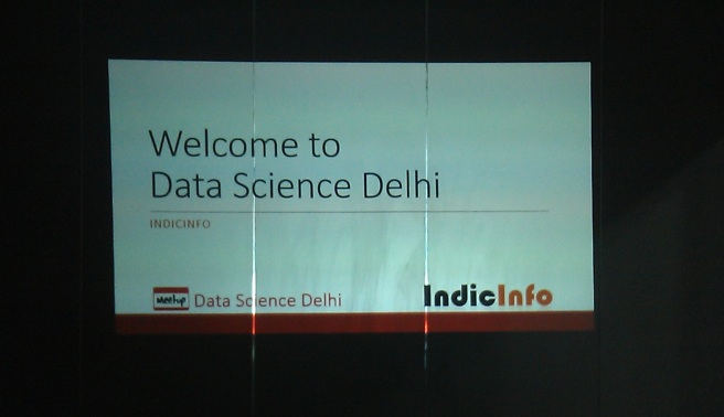 Data Science Delhi Meetup